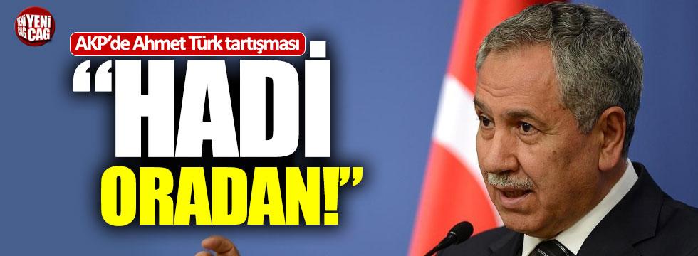 AKP'de Ahmet Türk tartışması