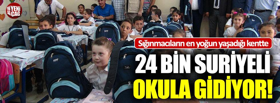 Kilis'te 24 bin Suriyeli okula gidiyor!