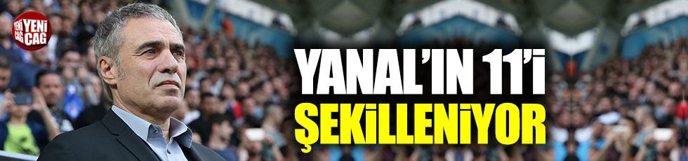 Ersun Yanal'ın Alanyaspor maçı 11'i şekilleniyor