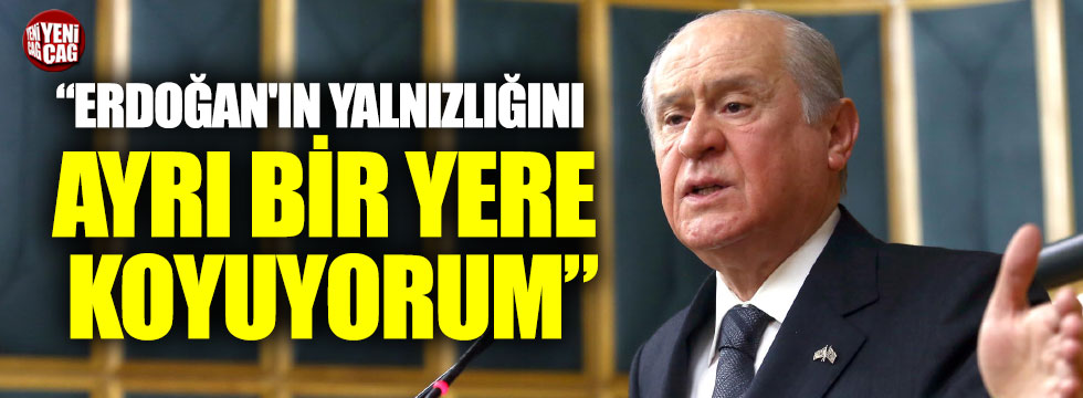 Bahçeli'den Erdoğan açıklaması: Neden söylem değiştirdi?