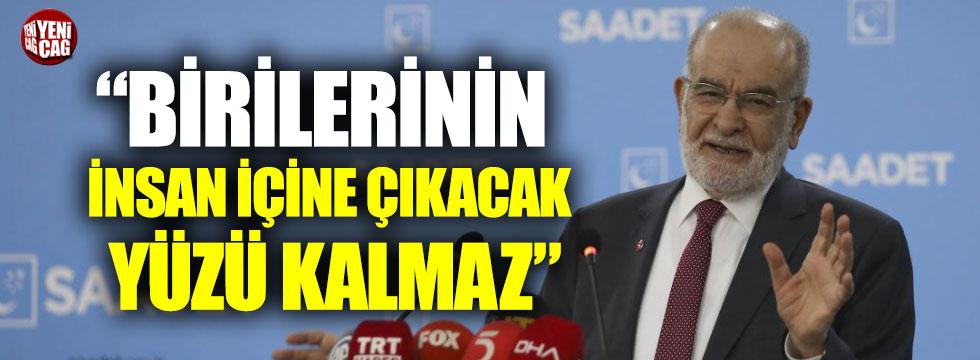 """Karamollaoğlu, """"Birilerinin insan içine çıkacak yüzü kalmaz"""""""
