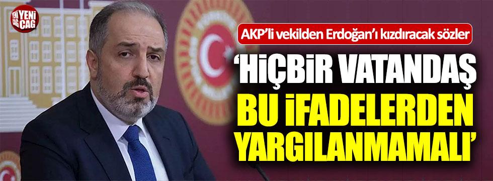 """AKP'li Mustafa Yeneroğlu: """"Hiçbir vatandaş bu ifadelerden yargılanmamalı"""""""