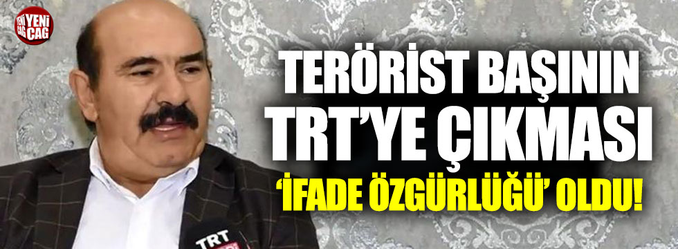 Osman Öcalan'ın TRT'ye çıkması 'ifade özgürlüğü' oldu!