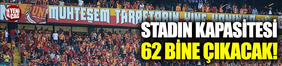 Galatasaray, Türk Telekom Stadı'nın kapasitesini 62 bine çıkaracak!