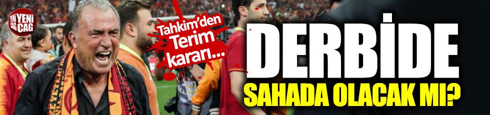 Terim'in cezası düşürüldü: Fenerbahçe derbisinde sahada olacak mı?