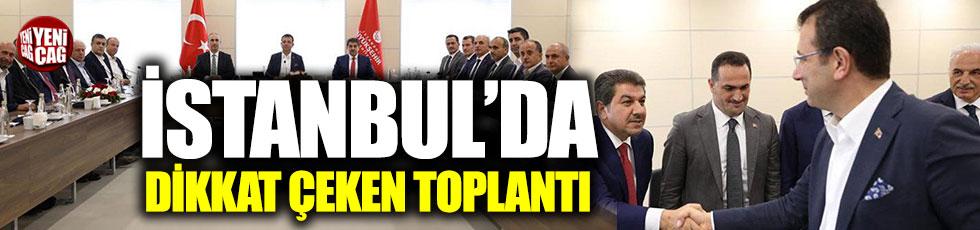 İstanbul'un başkanları bir araya geldi