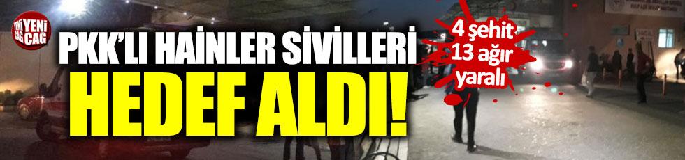 Diyarbakır'da sivil aracın geçişi sırasında patlama: 4 şehit