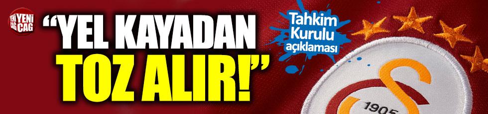 Galatasaray'dan Tahkim Kurulu açıklaması