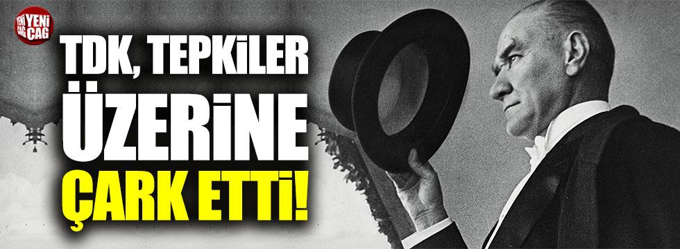 TDK, Atatürk'ün vasiyeti ve Nutuk'la ilgili kısmı tekrar siteye koydu
