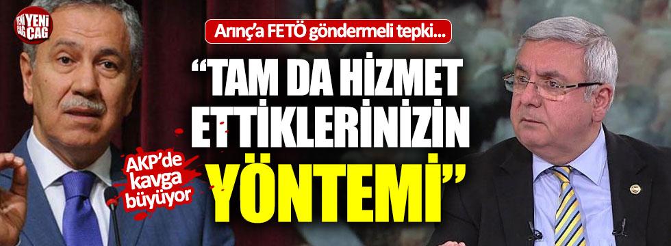 Bülent Arınç'a cevap Mehmet Metiner'den geldi