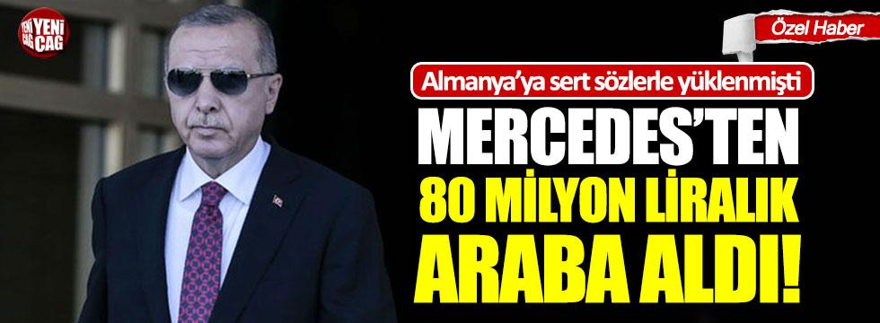 Erdoğan'ın Mercedes marka yeni araçları tartışma yarattı