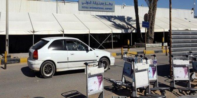 Libya'da uluslararası havalimanına saldırı