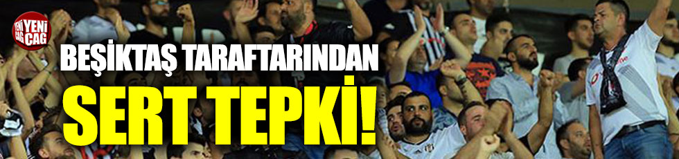 Beşiktaş taraftarından yönetime sert tepki!