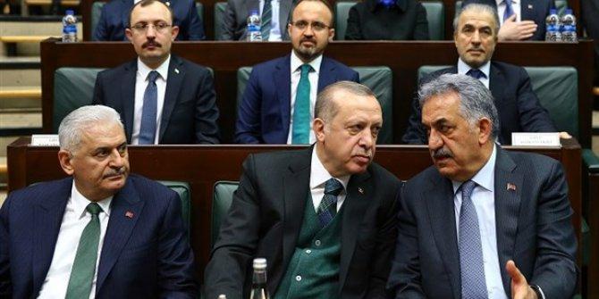 Masadaki araştırma Erdoğan'ı düşündürüyor