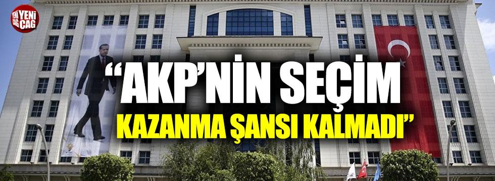 """Gürsel Tekin: """"AKP'nin seçim kazanma şansı kalmadı"""""""