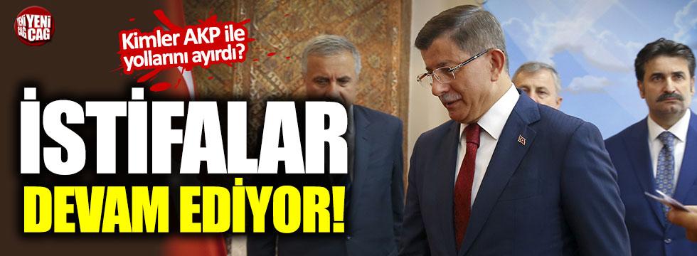 AKP'den kimler istifa etti?