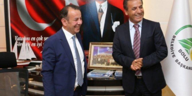 Tanju Özcan'ın hedefi Avrupa ile yarışmak...  Bolu'nun vizyonu değişti..