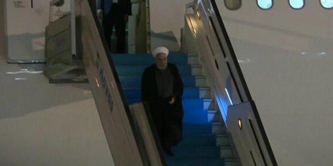 Ruhani 'Üçlü zirve' için Ankara'da
