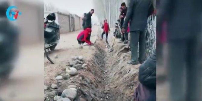 Çin, Uygur Türklerini bedavaya çalıştırıyor