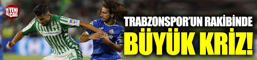 Trabzonspor'un  rakibi Getafe'de büyük kriz