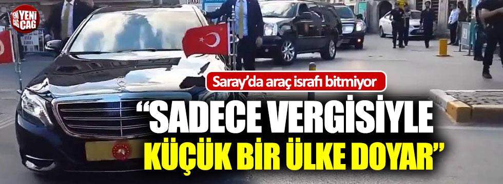 """Murat Muratoğlu """"Saraydaki araçların vergileriyle küçük bir ülke doyar"""""""