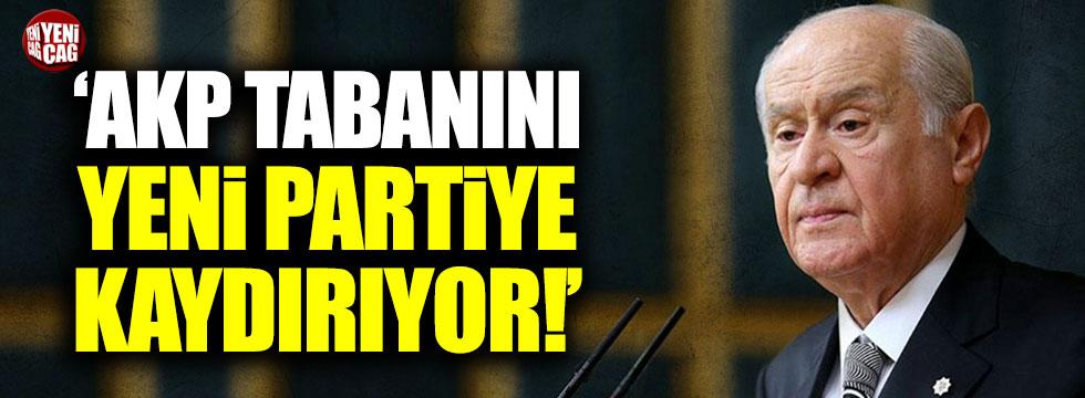 """Ocaktan: """"Bahçeli, AKP tabanını yeni partiye kaydırıyor"""""""