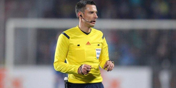 Galatasaray - Club Brugge maçının hakemi açıklandı