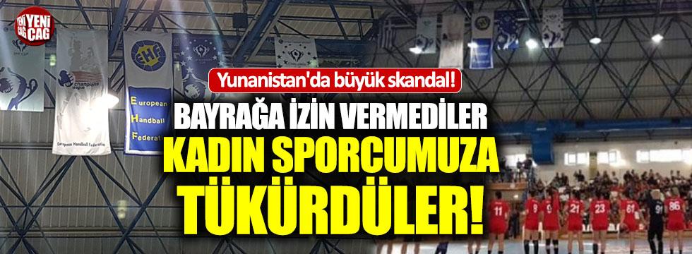 Yunanistan'da skandal: Türk Bayrağına izin verilmedi!