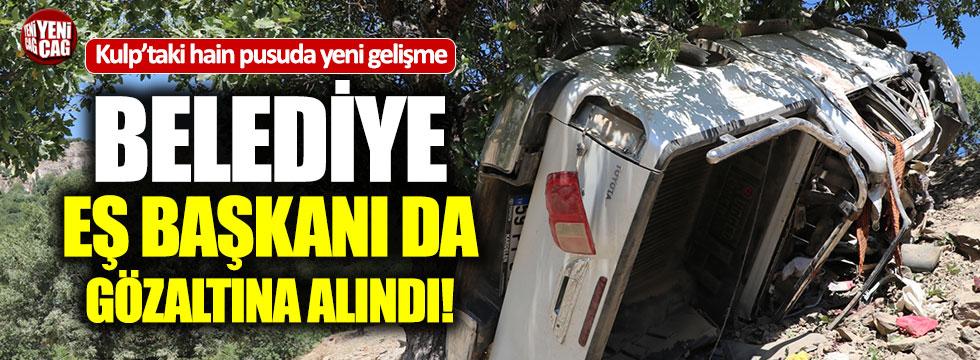 Kulp Belediyesi'nde bir HDP'li daha gözaltına alındı
