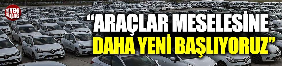 """""""Yenikapı'daki araçlar meselesi kapanmadı"""""""