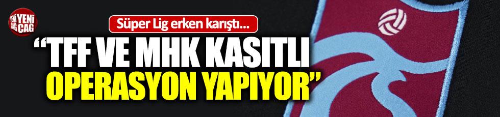 """Trabzonspor'dan zehir zemberek açıklama; """"Haddini bilsin"""""""