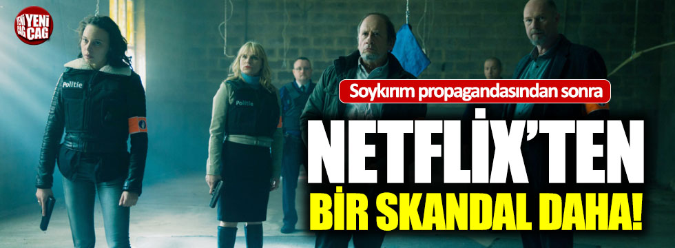 Netflix dizisinde tepki çeken sahne