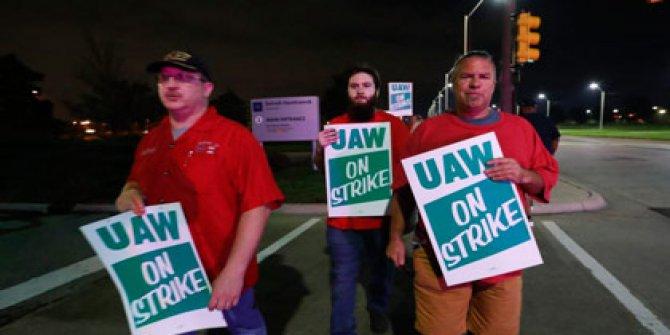 ABD'de tarihi grev