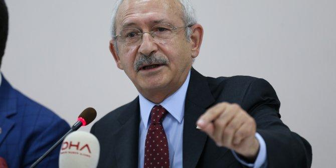 """Kılıçdaroğlu: """"3,5 milyon Suriyeli Türkiye'nin kapısına dayanırsa şaşırmayın"""""""