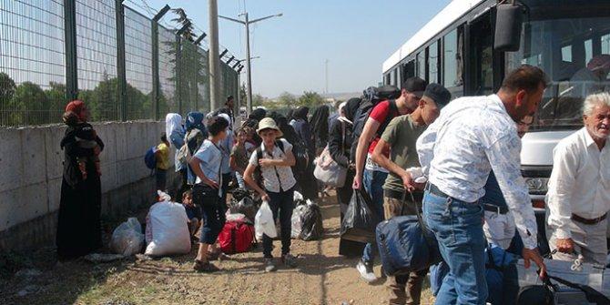 39 bin Suriyeli tatilden döndü!