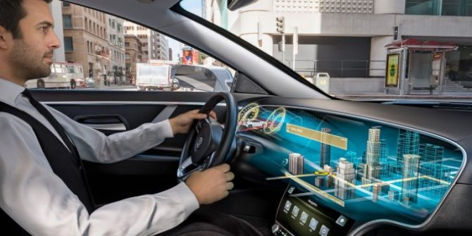 Otomobillerde 3D deneyimi!