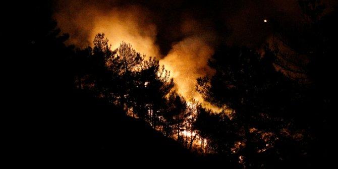 25 farklı noktada orman yangını çıktı