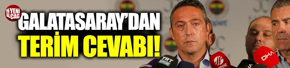 Galatasaray'dan Ali Koç'a 'sicil' cevabı