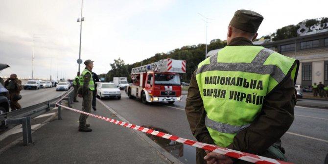 Kiev'de bomba alarmı
