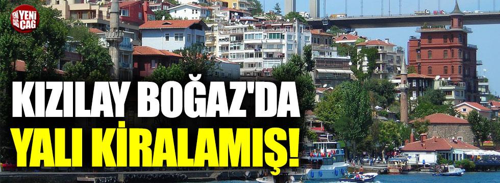Kızılay, İstanbul'da 12 bin dolara köşk kiraladı!