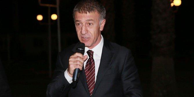 """Ahmet Ağaoğlu: """"Hiçbir oyuncuya borcumuz yok"""""""