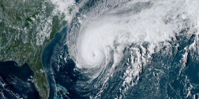 Humberto Kasırgası Bermuda'da etkili oldu