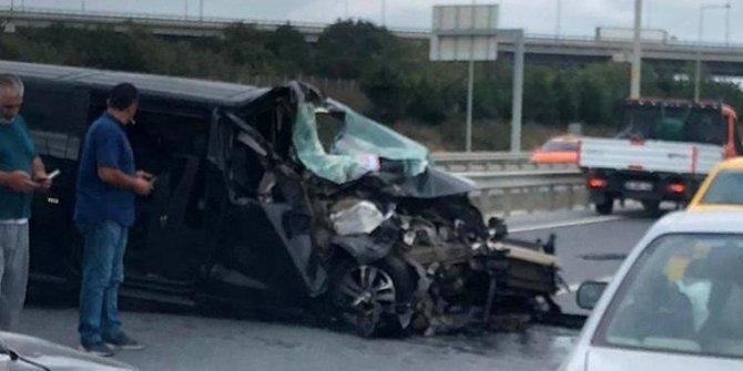İstanbul Havalimanı yolunda feci kaza