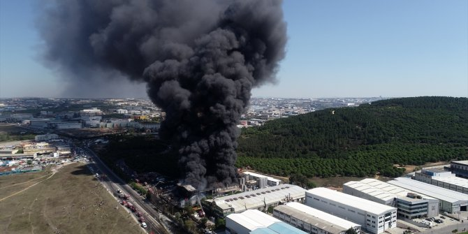 Tuzla'daki fabrika yangınını PKK üstlendi