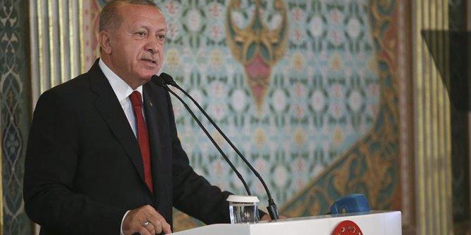 """Erdoğan: """"Şehirleri çirkinleşmiş medeniyetin..."""""""