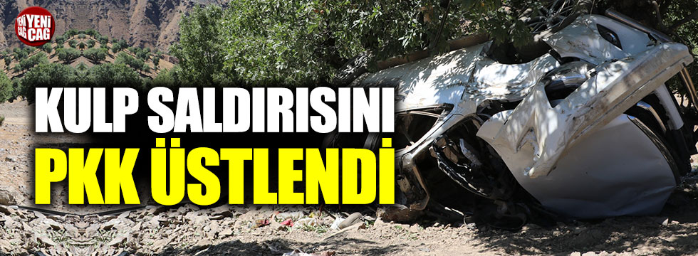 Kulp saldırısını PKK üstlendi