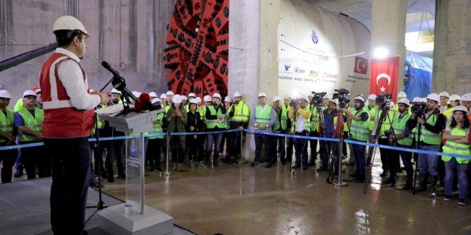 Finansman sorunu ile duran metro inşaatı tekrar başladı