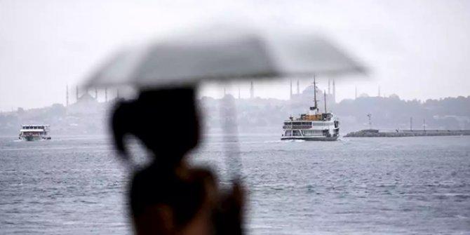 İstanbul'da kuvvetli yağışlara dikkat