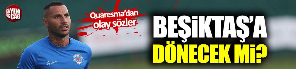 Quaresma Beşiktaş'a dönecek mi?