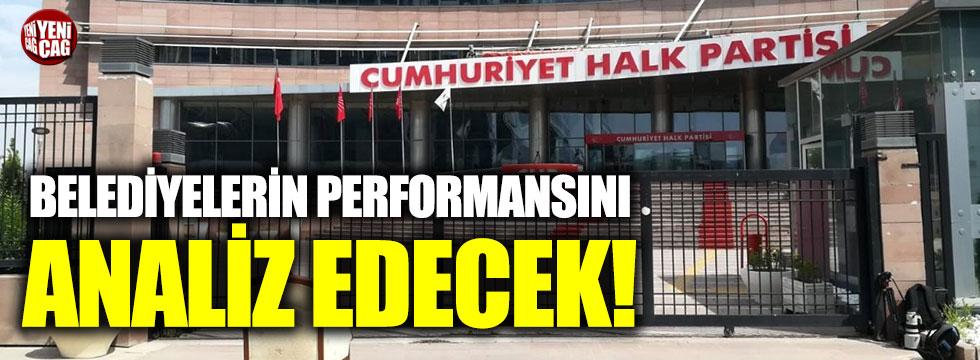 CHP belediyelerin performansını analiz edecek!